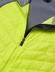Halti - Keimi Men's Hybrid Jacket - insulated jackets - lime punch - 2