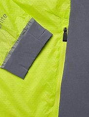 Halti - Keimi Men's Hybrid Jacket - insulated jackets - lime punch - 3