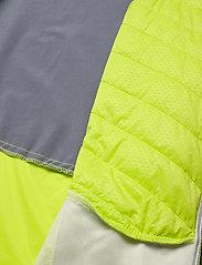 Halti - Keimi Men's Hybrid Jacket - insulated jackets - lime punch - 4