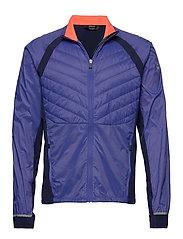 Keimi Men's Hybrid Jacket - POWER BLUE