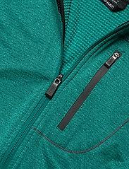 Halti - Puijo M Hoodie jacket - fleece midlayer - fanfare green melange - 3