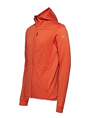 Halti - Puijo M Hoodie jacket - fleece midlayer - orange com melange - 1