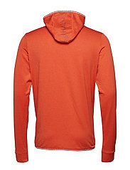 Halti - Puijo M Hoodie jacket - fleece midlayer - orange com melange - 4
