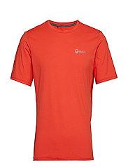 Juha M T-shirt - ORANGE COM MELANGE