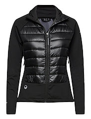 Olos Women's Hybrid Cross Country Ski Jacket - BLACK