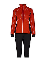 Murto W XCT softshell set - LAVA RED