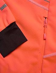 Halti - Kaarre W XCT jacket - softshell-jackor - neon fiery coral - 3