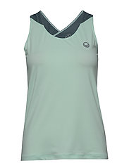 Elina W training Top - BLEACHED AQUA MINT MELANGE