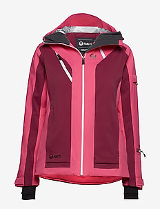 Podium W DX ski jacket - outdoor- & regenjacken - fuchsia purple