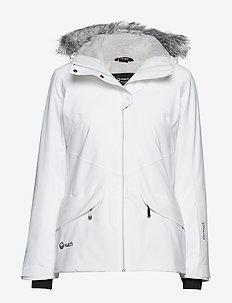 Elega W DX ski jacket - WHITE