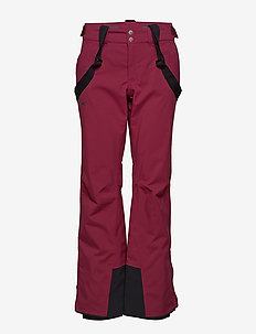 Puntti II W DX ski pants - isolerande byxor - plum purple