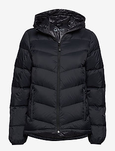 Halle W down jacket - BLACK