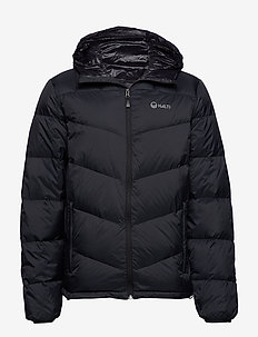 Whiff M down jacket - BLACK