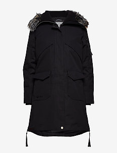 Osaka W parka jacket - down jackets - black