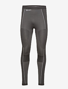 Nila M seamless base layer pants - base layer bottoms - granite grey