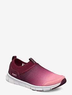 Lente Women's Leisure shoes - vandrings- & promenadskor - rhubarb red