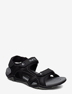 Aledo Men's sandal - hiking/walking shoes - black