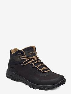 Fara Men's mid DrymaxX Outdoor shoes - buty na wędrówki - black/khaki