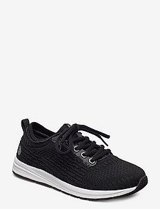 Lyne Knit Sneakers - låga sneakers - black