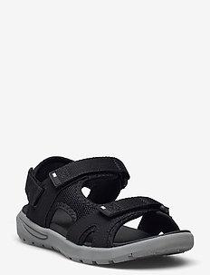 Sandor sandal - vandresandaler - black