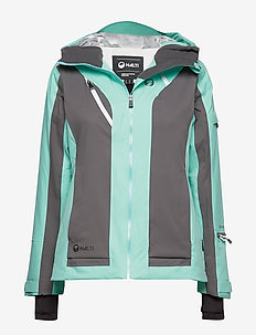 Podium Women's DX Ski Jacket - ulkoilu- & sadetakit - mint blue