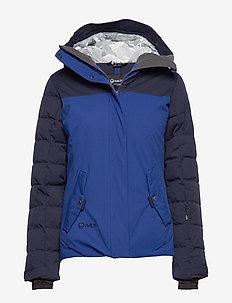 Kilta Women's DX Ski Jacket - friluftsjackor - sodalite blue