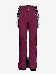 Podium Women's DX Ski Pants - insulated pants - plum purple
