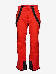 Puntti Men's DX Ski Pants - eristetyt housut - lava red