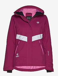 Kelo W Jacket - isolerande jackor - magenta purple
