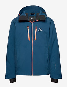 Saarua M Jacket - insulated jackets - blue opal