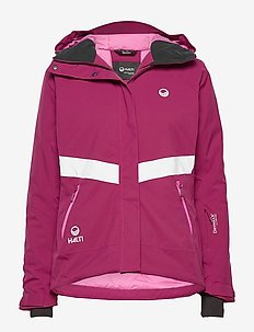 Kelo W+ DX ski jacket - isolerande jackor - magenta purple