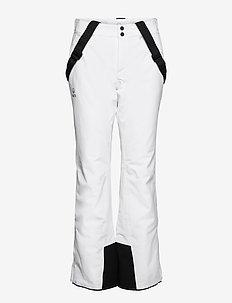 Puntti Recy W DX ski pants - skibukser - white