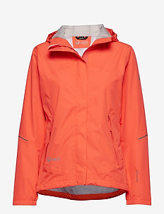 Caima Women's DX Shell Jacket - NEON FIERY CORAL