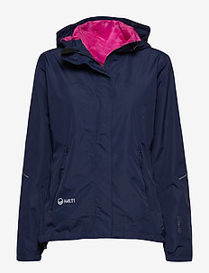 Caima Women's DX shell jacket - shell jackets - peacoat blue