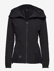 Pallas Women's X-stretch jacket - softshell-jackor - anthracite grey
