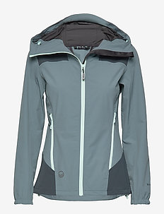 Pallas Women's X-stretch jacket - softshell-jackor - goblin blue