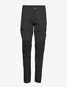 Pallas Women's X-stretch pants - softshell-byxor - anthracite grey