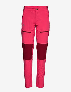 Pallas Women's X-stretch pants - softshell-byxor - azalea pink