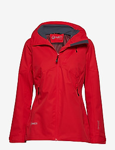 Ella W Jacket - shell jackets - lava red