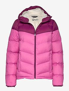 Halle W Jacket - dons jassen - super pink