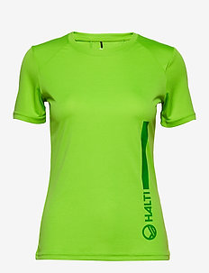 Lemi Fun Women's Training T-shirt - t-paidat - jasmine green print