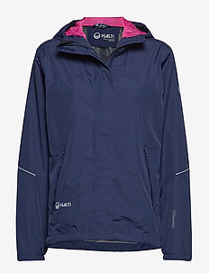 Caima W + Jacket - shell jackets - peacoat blue