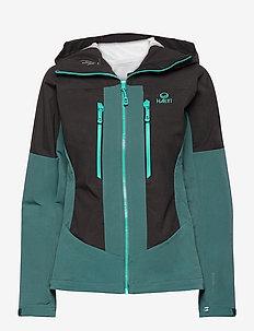 Pallas warm hybrid W Jacket - vestes de ski - balsam green