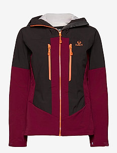Pallas warm hybrid W Jacket - ski jassen - beet red