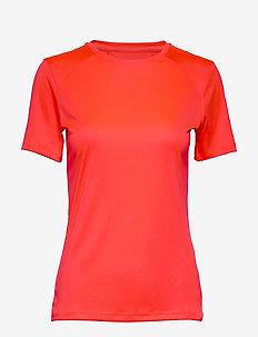 Anet Women's Training T-shirt - t-shirts - neon fiery coral