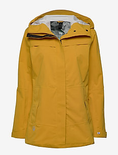 Hiker Next Generation Women's DrymaxX Shell Jacket - friluftsjackor - chai tea brown