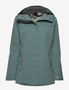 Hiker Next Generation Women's DrymaxX Shell Jacket - friluftsjackor - goblin blue