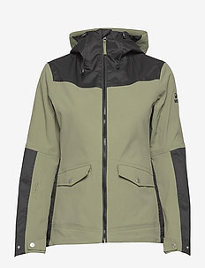 Hiker Women's DrymaxX outdoor jacket - sportjassen - deep lichen green