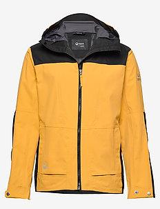 Hiker Men's DrymaxX outdoor jacket - CHAI TEA BROWN