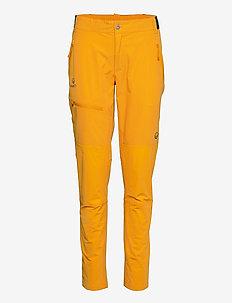 Pallas W X-stretch Lite Pants - friluftsbyxor - saffron yellow